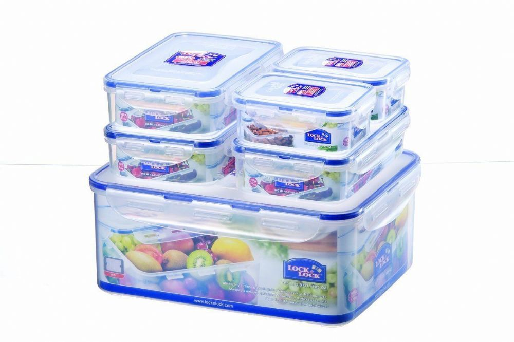 Lock Lock Lock and Lock Plastic Food Storage Containers Boxes